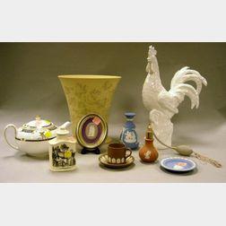 Ten Assorted Modern Wedgwood Ceramic Items