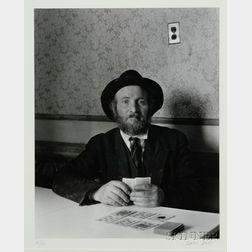 (Photography) Berenice Abbott (American, 1898-1991)      East Side Portrait