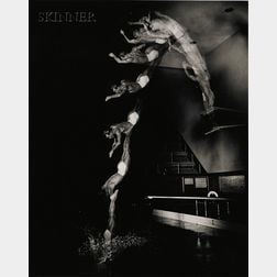 Harold Eugene Edgerton (American, 1903-1990)      Lot of Two Images of Divers.