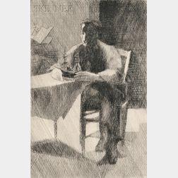 Jacques Villon (French, 1875-1963)      L'Aventure