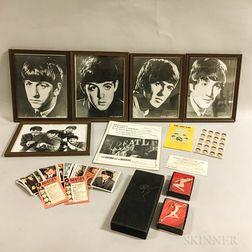 Collection of Beatles and Marilyn Monroe Memorabilia