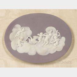 Wedgwood Lilac Jasper Dip Plaque