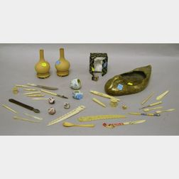 Group of Miscellaneous Asian Decorative Articles