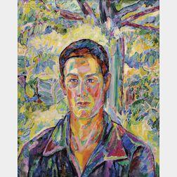 Jerome Blum (American, 1884-1956)      Young Man