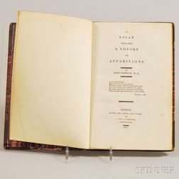 Ferriar, John (1761-1815) An Essay Towards a Theory of Apparitions