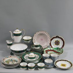 Group of Reproduction Russian Imperial Porcelain