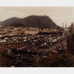 Bob Hower (American, b. 1947)      Junkyard, Ohio