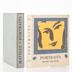 Matisse, Henry (1869-1954) Portraits Par Henri Matisse.