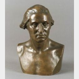 James Wilson MacDonald (American, 1824-1908) After Jean Antoine Houdon (French, 1741  -1828)Bust of George Washington