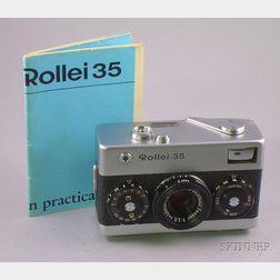 Rollei 35 Camera No. 3019524
