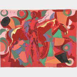 Marino Marini (Italian, 1901-1980)      Untitled (Plate 1)