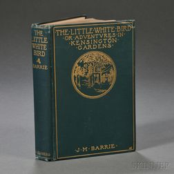 Barrie, Sir James M. (1860-1937) The Little White Bird  , Signed Copy.