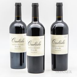 Carlisle Syrah Papas Block, 3 bottles