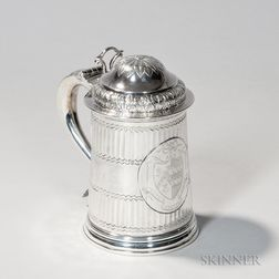 Georgian Sterling Silver Tankard