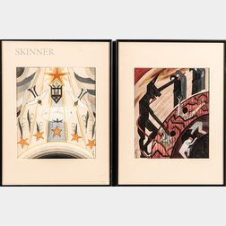 American School, 20th Century      Five Scenes from Dante's Divine Comedy