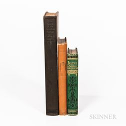 Three Native American Books.
