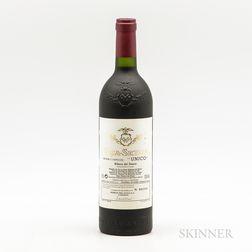 Vega Sicilia Unico Reserva Especial MV, 1 bottle