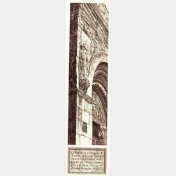 John Taylor Arms (American, 1887-1953)    Stone Tapestry, San Isidoro, Leon