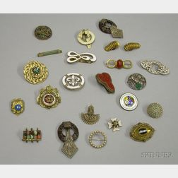 Eclectic Group of Assorted Early to Modern Costume and Other Jewelry
