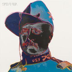 Andy Warhol (American, 1928-1987)      Teddy Roosevelt