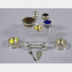 Group of Sterling Silver Table and Personal Items