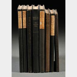 Millay, Edna St. Vincent (1892-1950) Eight Volumes: