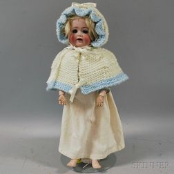 JDK 260 Bisque Head Doll on Long-limbed Composition Body