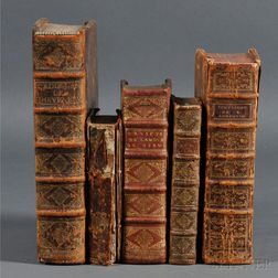 Theological Works, French Language, Five Volumes.