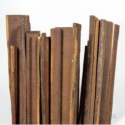 Twenty-two Amourette Sticks