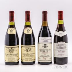Mixed Red Burgundy, 4 bottles