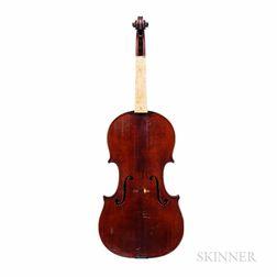 Violin, Auguste Delivet, Toronto, 1923