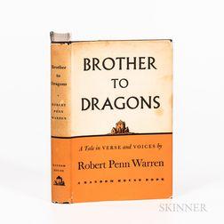Warren, Robert Penn (1905-1989) Brother to Dragons  , Signed.