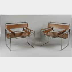 Four Wassily-style Armchairs