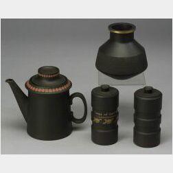 Four Wedgwood Modern Items