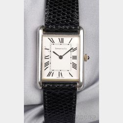 Stainless Steel Wristwatch, Tiffany & Co.