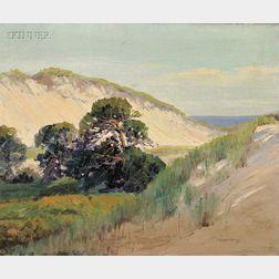 Charles Gordon Harris (American, 1891-1963)      Sand Dunes, Westport Point