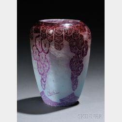 Le Verre Francais Lavande Vase