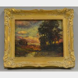 Charles P. Appel (American, 1857-1928)      Sunset