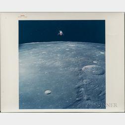 Apollo 12, Lunar Module Descent, November 19, 1969.