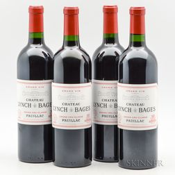 Chateau Lynch Bages 2009, 4 bottles