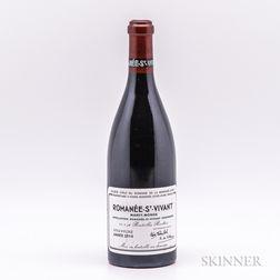 Domaine de la Romanee Conti Romanee St. Vivant 2014, 1 bottle