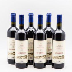 San Guido Le Difese 2007, 6 bottles