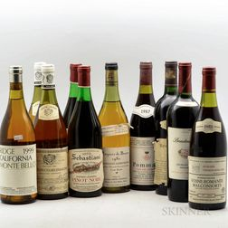 Mixed Wines, 10 bottles