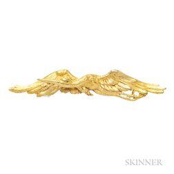 Art Nouveau 18kt Gold Brooch