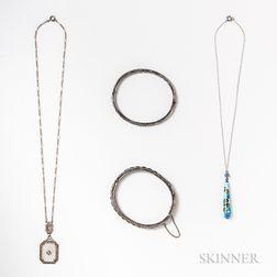 Group of Art Deco Jewelry