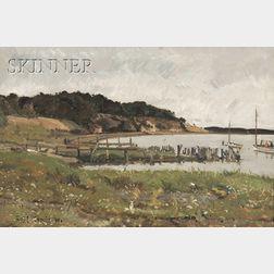 Edward Darley Boit (American, 1840-1915)      Cotuit View