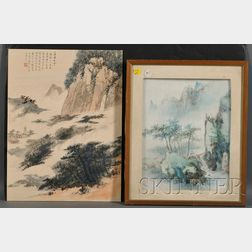 Two Modern Paintings