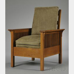 Stickley Spindle-sided Armchair