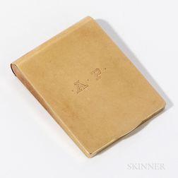 14kt Gold Matchbook Case