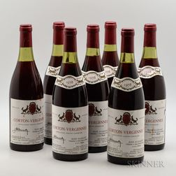 Jean Allexant Corton Vergennes 1978, 7 bottles